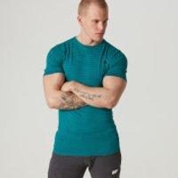Seamless Short-Sleeve T-Shirt - XXL - Teal