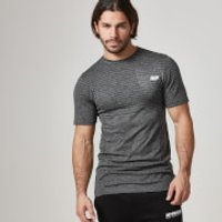 Seamless Short-Sleeve T-Shirt - L - Black