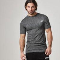 Seamless Short-Sleeve T-Shirt - L - Black