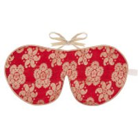 Holistic Silk Eye Mask Slipper Gift Set - Scarlet (Various Sizes) - L