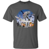 Star Wars Rogue One Mens AT - AT Battle T-Shirt - Grey - M - Grey