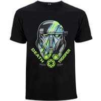 Star Wars Rogue One Mens Death Trooper Head T-Shirt - Black - XL - Black