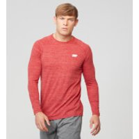 Myprotein Performance Long Sleeve Top - XXL - Red