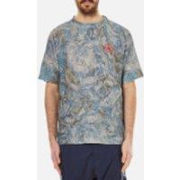 Vivienne Westwood MAN Men's Military Mess T-Shirt - Blue Print - S - Blue