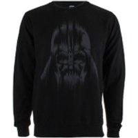Star Wars Rogue One Men's Vader Lines Crew Sweatshirt - Black - S - Black - Star Wars Gifts