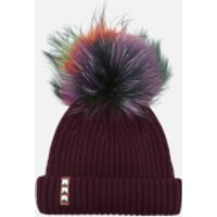 bklyn-women-merino-wool-hat-with-rainbow-pom-pom-maroon