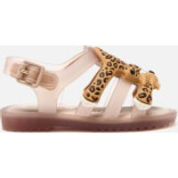 Mini Melissa Jeremy Scott Toddlers' Flox Sandals - Nude - UK 6 Toddler - Nude