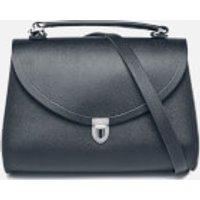 The Cambridge Satchel Company Womens Poppy Bag - Navy Saffiano
