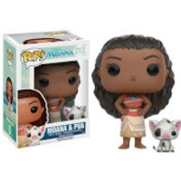 Moana and Pua Pop! Vinyl Figures - Moana Gifts