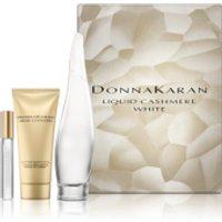 DKNY Cashmere White Eau de Parfum 100ml, Body Lotion and 10ml Rollerball Set