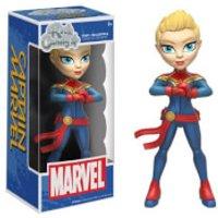 Captain Marvel Rock Candy Vinyl Figure - Marvel Gifts