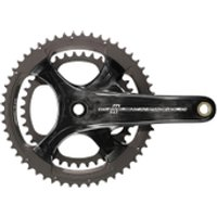Campagnolo Chorus 11 Speed Ultra Torque Carbon Compact Chainset - Black - 52-36T 172.5mm