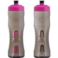 Fabric Cageless Bottle - 750ml - Black/Pink