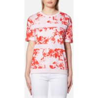 BOSS Orange Womens Tabloom Top - Red Overflow - XS - Red