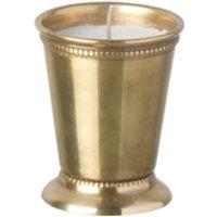 Parlane Steel Votive - Gold (9 x 7cm)