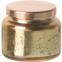 Parlane Vanilla Glass Votive - Gold (6 x 7cm)