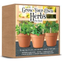 Grow Your Own Herbs Set - Grow Your Own Gifts