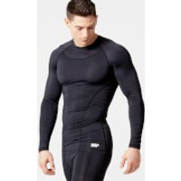 Charge Compression Long Sleeve Top - M - Black