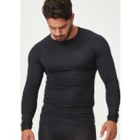Charge Compression Long Sleeve Top - XS - Black