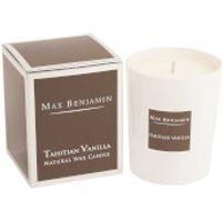 Max Benjamin Scented Glass Candle in Gift Box - Tahitian Vanilla