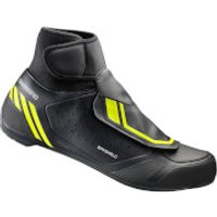 Shimano RW5 Dryshield SPD-SL Winter Shoes - Black - EU 48 - Black