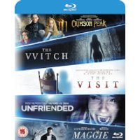 Blu-ray Starter Pack Includes The Witch/Crimson Peak/Maggie/The Visit/Unfriended