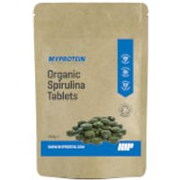 Organic Spirulina Tablets - 200g - Pouch - Unflavoured