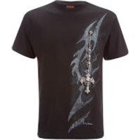 Spiral Men's Tribal Chain T-Shirt - Black - L - Schwarz