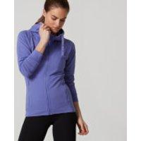 Superlite Slim Fit Zip Up Hoodie - XS - Purple