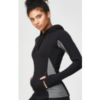 Superlite Slim Fit Pullover Hoodie - L - Black