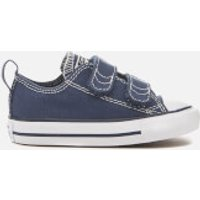 Converse Toddlers' Chuck Taylor All Star 2V Ox Trainers - Athletic Navy/White - UK 3 Toddler - Navy