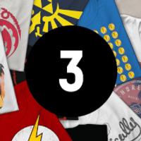 Mystery Geek T-Shirt - 3-Pack - Men's - S