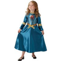 Disney Girls' Brave Merida Fancy Dress Costume - M - Blue