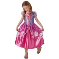 Disney Girls Sofia Fancy Dress Costume - S - Pink