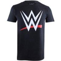 WWE Mens Logo T-Shirt - Black - XXL - Black