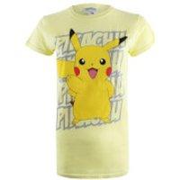 Pokemon Women's Pikachu Victory T-Shirt - Yellow - XL - Yellow - Pokemon Gifts