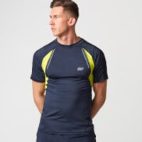 Myprotein Strike Football T-Shirt - XXL - Navy