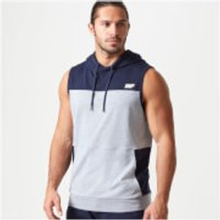 Myprotein Superlite Sleeveless Zip-Up Hoodie - XXL - Navy