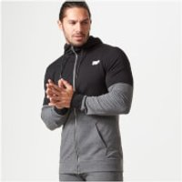 Myprotein Superlite Zip-Up Hoodie - S - Black