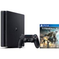 Sony Playstation 4 Slim 500GB Console - Includes Titanfall 2