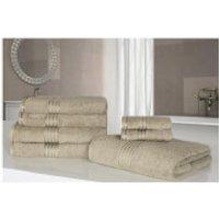 Highams 100% Egyptian Cotton 7 Piece Towel Bale (500gsm) - Natural