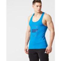 Slogan Stringer Vest - XXL - Blue