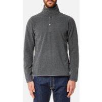 Fjallraven Mens Ovik Fleece Sweatshirt - Dark Grey - L - Grey