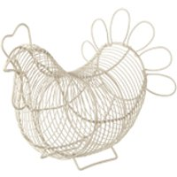 Eddingtons Chicken Egg Basket - Cream