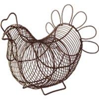 Eddingtons Chicken Egg Basket - Brown - Chicken Gifts