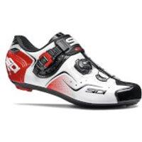 Sidi Kaos Road Shoes - White/Black/Red - EU 42 - White/Black/Red