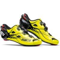 Sidi Shot Carbon Road Shoes - Yellow Fluro/Black - EU 41 - Yellow Fluro/Black