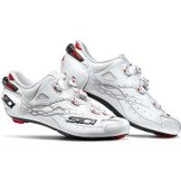 Sidi Shot Carbon Road Shoes - White - EU 48/UK 11.5 - White