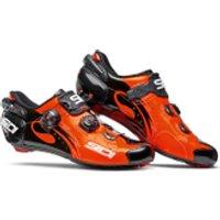 Sidi Wire Carbon Vernice Cycling Shoes - Orange/Black - EU 39/UK 5 - Orange/Black
