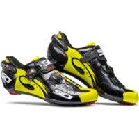 Sidi Wire Carbon Vernice Cycling Shoes - Black/Yellow Fluro - EU 45/UK 9 - Black/Yellow